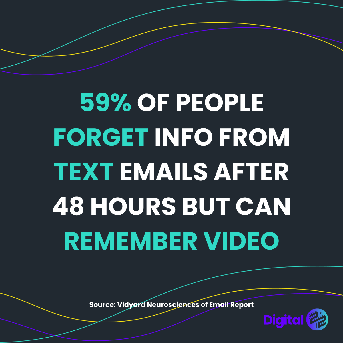 people forget text remember video black