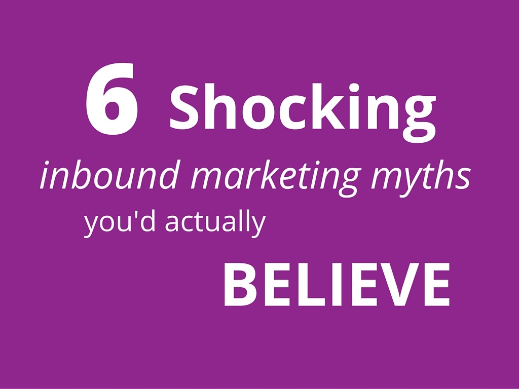 inbound marketing myths title image