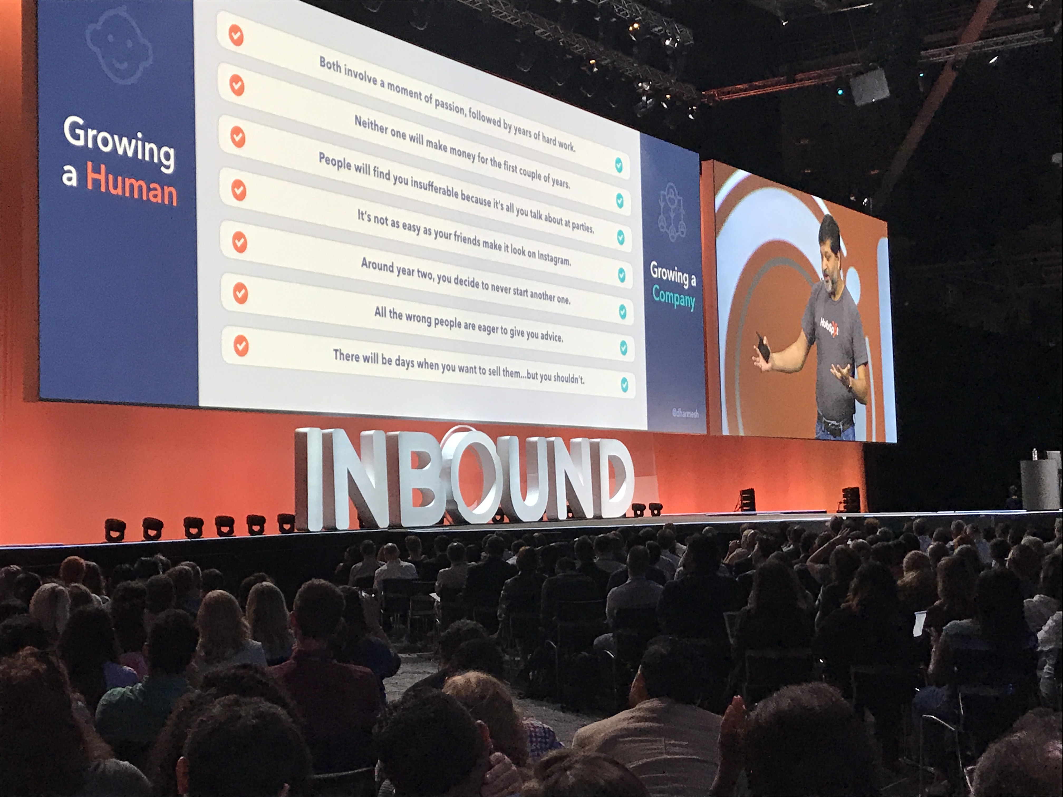 dharmesh shah keynote at inbound 18
