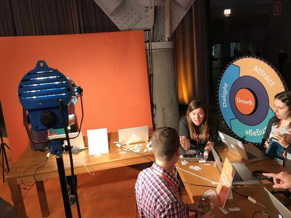 flywheel on show at inbound 18