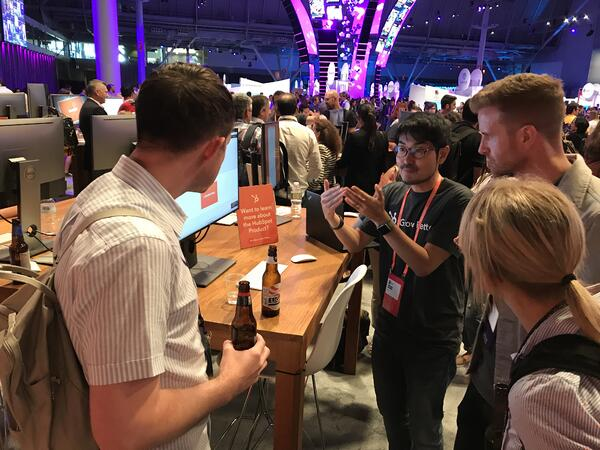 hubspot video demo at inbound 18 with digital 22