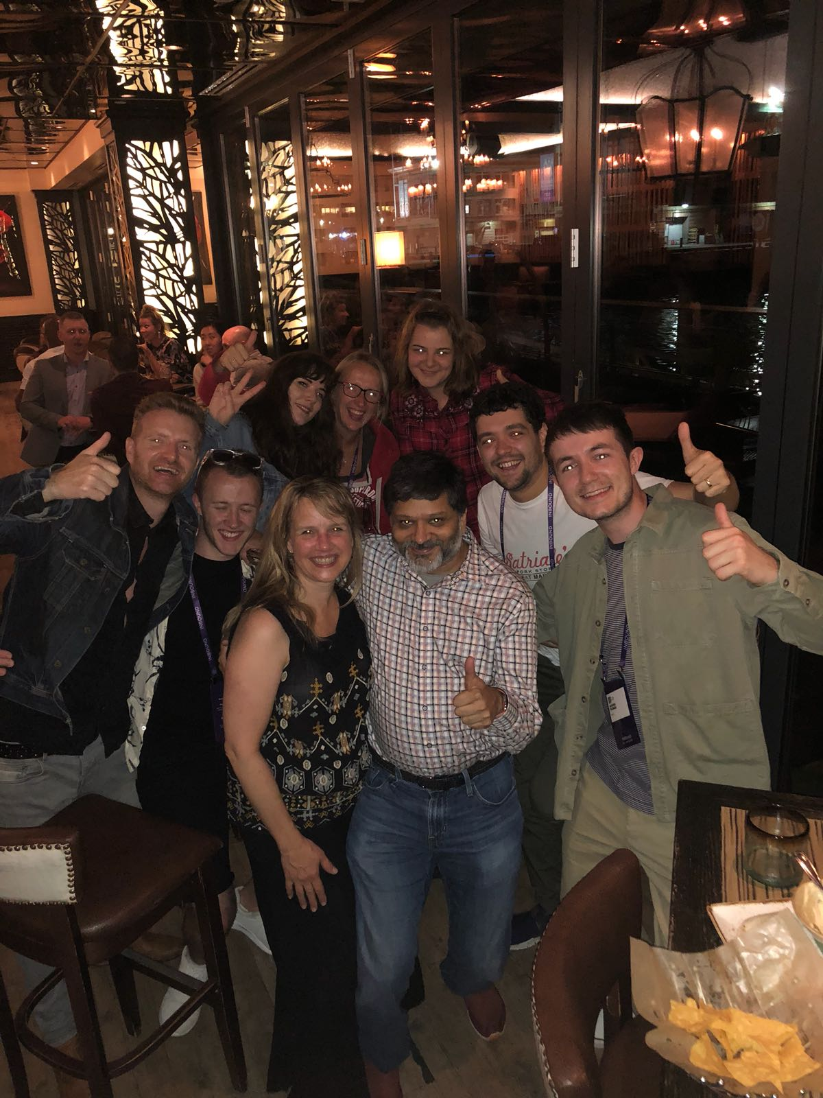 dharmesh shah and digital 22 team at inbound 18