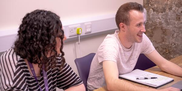 BLOG 8 - Sam and Louise in a meeting