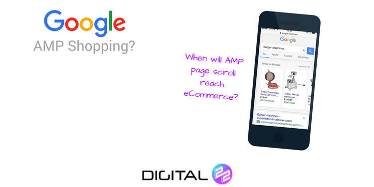 AMP for Google shopping