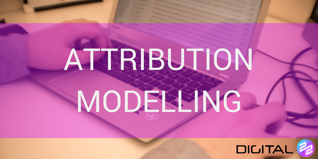 Adwords Attribution Modelling on laptop screen