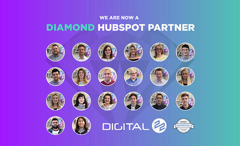 Digital 22 Has Become a HubSpot Diamond Partner (and we're very excited about it!)