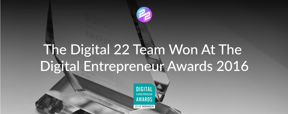 header image for digital entrepreneur awards