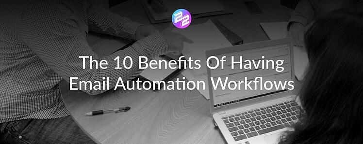 header image benefits of email automation workflows