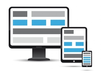 responsive design consistency example graphic