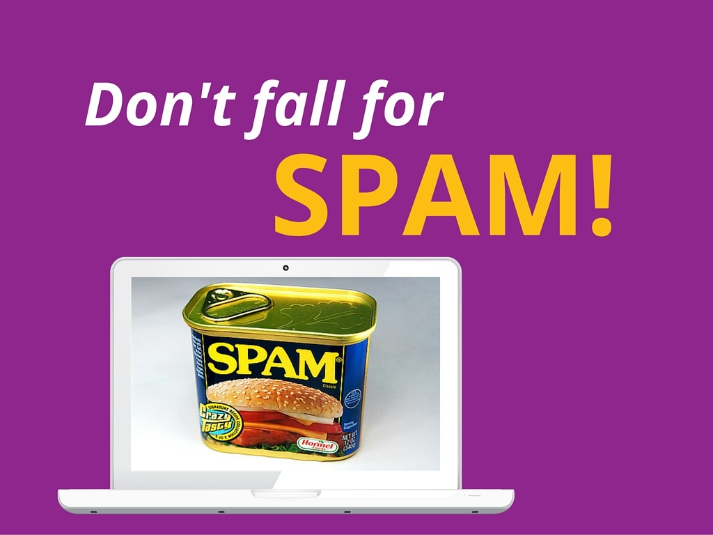 Dont fall for spam