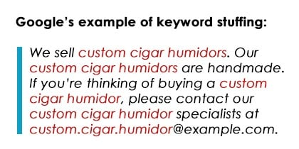 keyword example