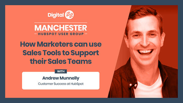 HUG-Andrew Munnelly how marketers can use sales tools