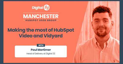 Manchester HUG March 2021: How to get the most out of video