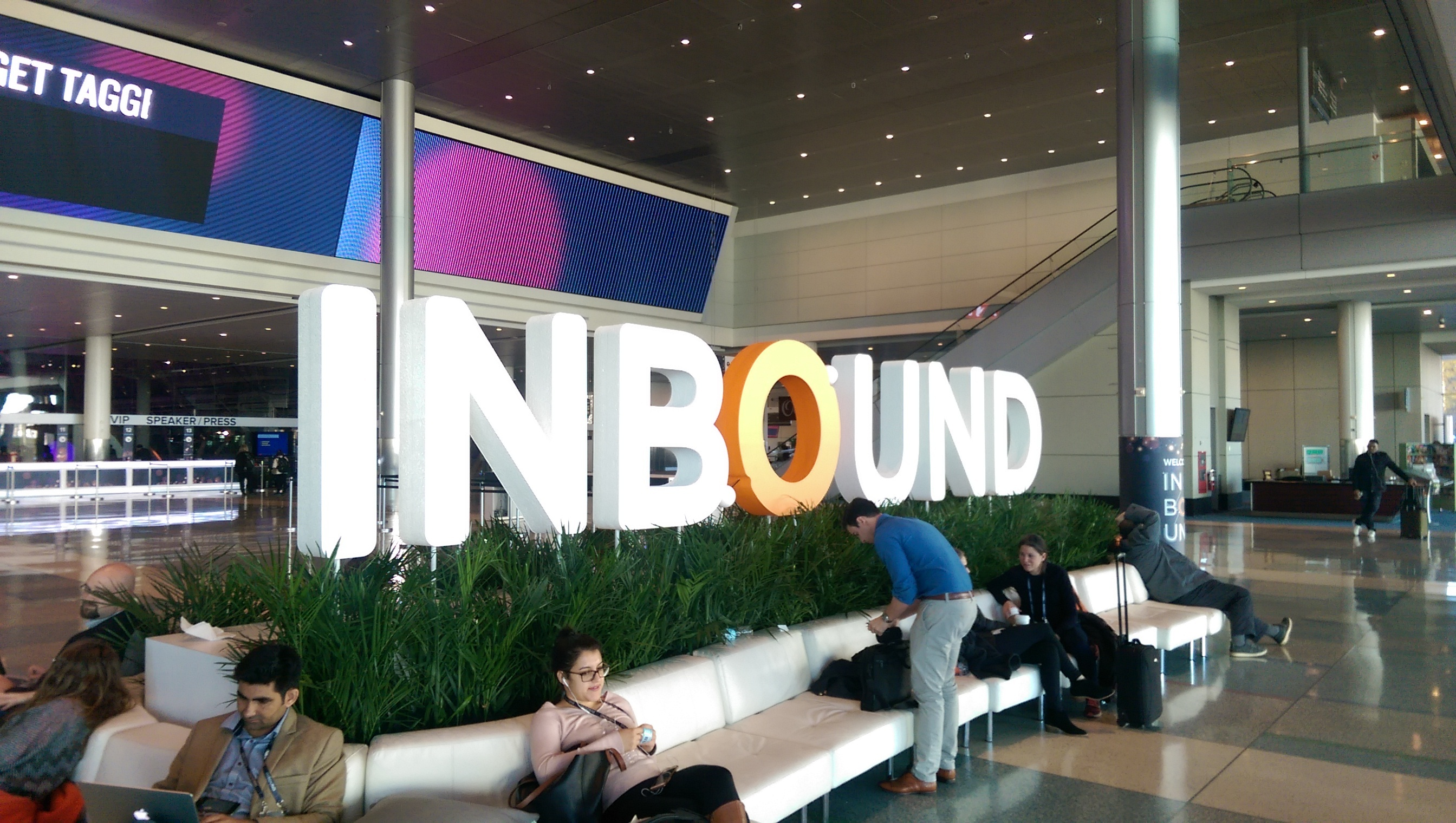 Inbound Foyer Sign