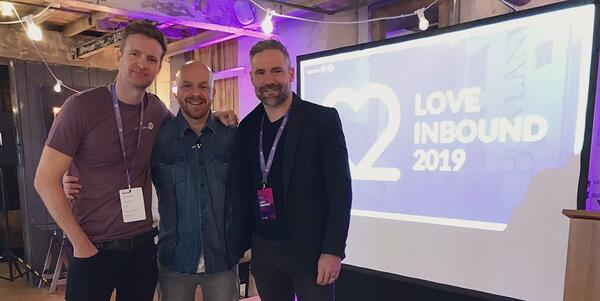 mark byrne luke staton david dunnn love inbound 2019