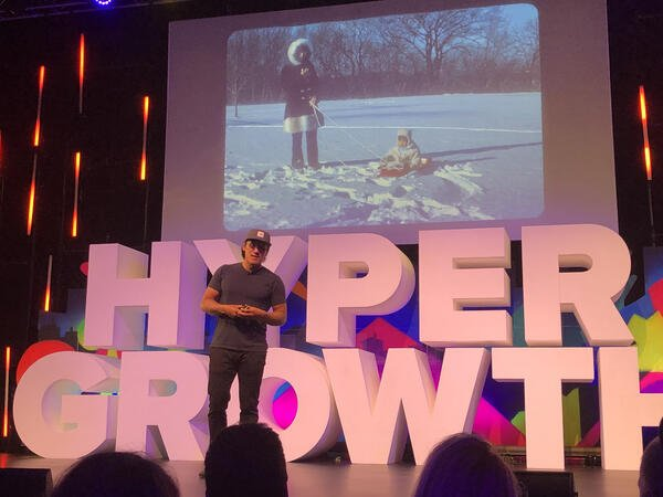 Jimmy Chin at HYPERGROWTH 19