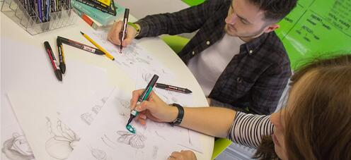 7 Benefits Of Having Your Website Illustrations Hand Drawn