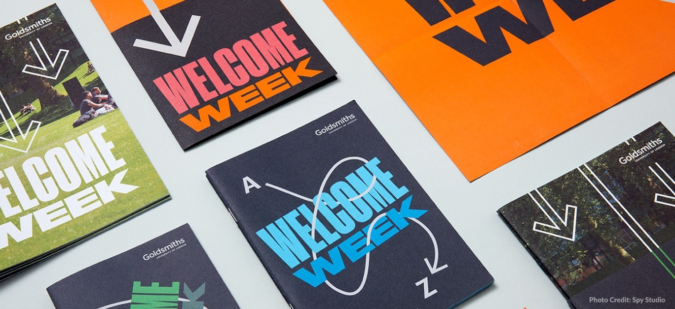 welcome week booklets