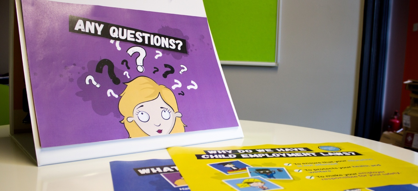 Printed animation teaching materials