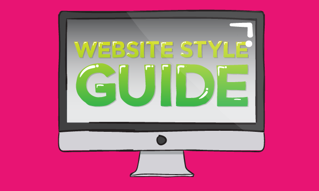 website style guide image