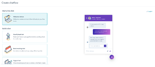 How to make a chatbot in HubSpot in 5 easy steps