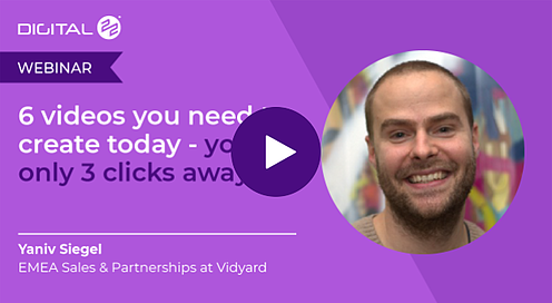 COVID-19 challenges webinar - 6 videos you need to create today.