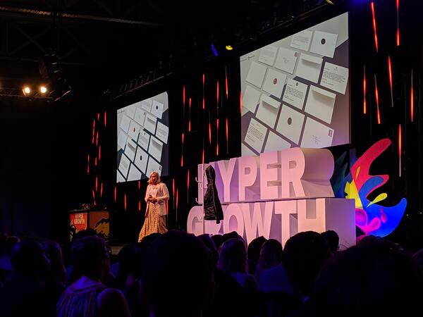Charlotte Pearce at HYPERGROWTH 19