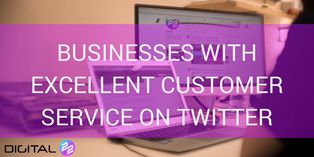 businesses with excellent customer service on twitter