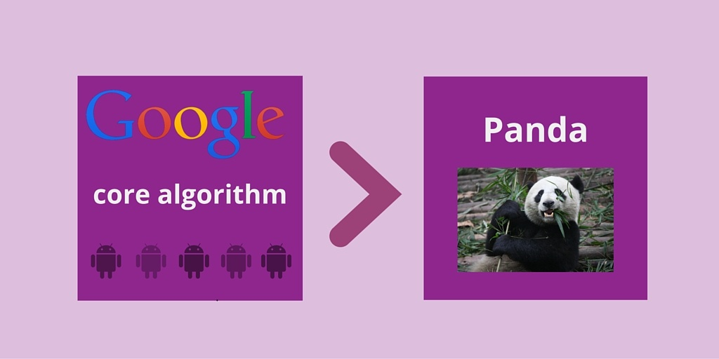 google core algorithm and panda