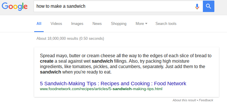 featured how to make a sandwich
