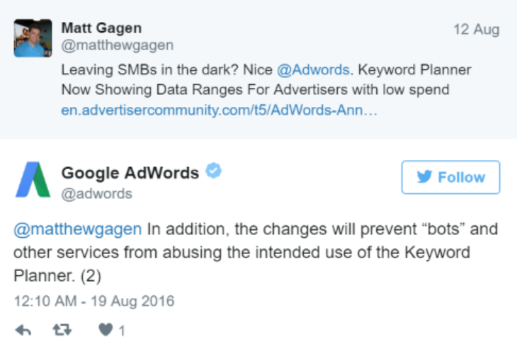 adwords twitter reply 2
