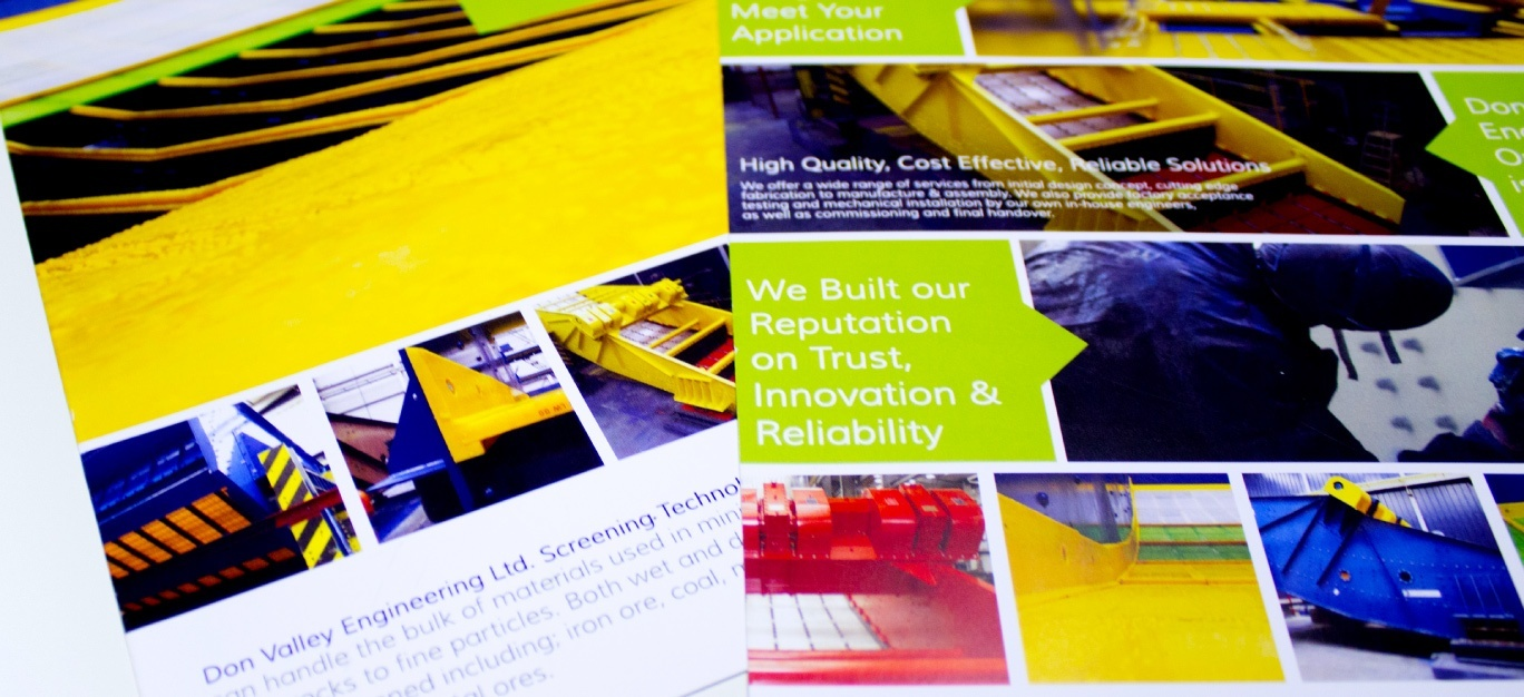 printed brochure produced by digital 22