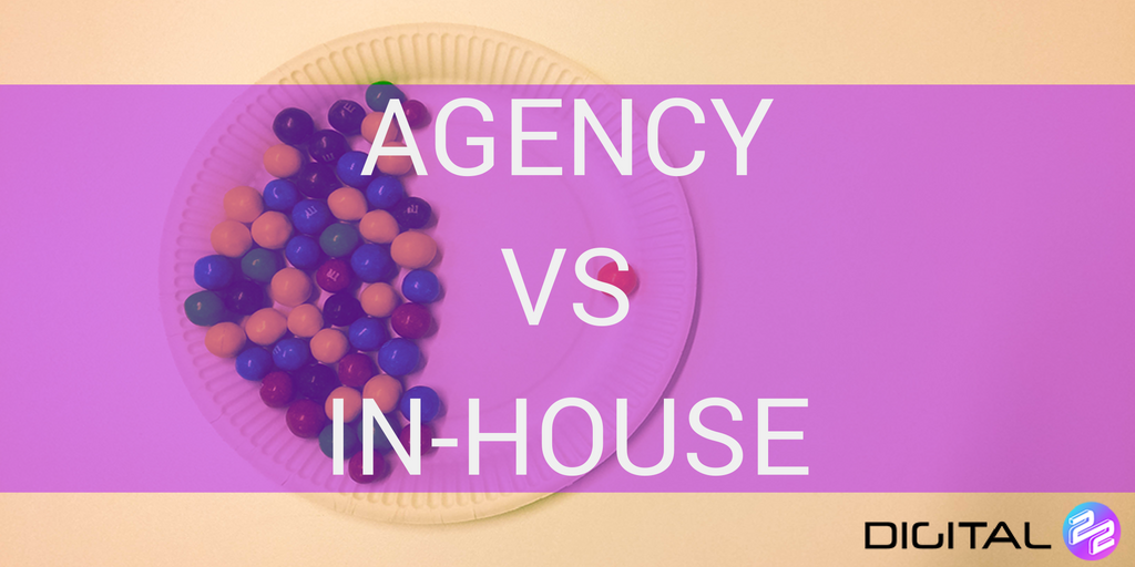 stand out agency content on a plate