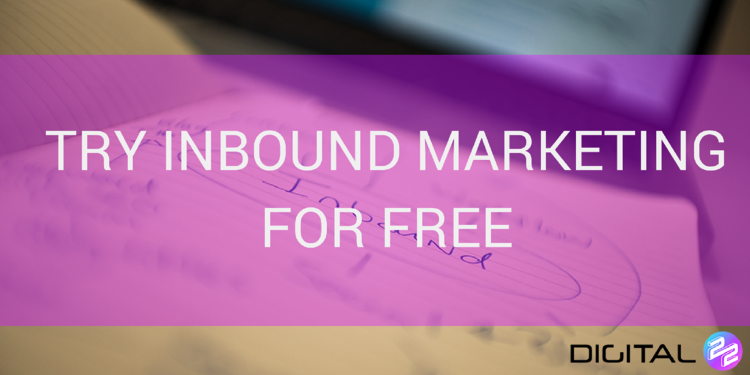 try inbound marketing for free