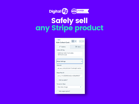 Collect safely sell any stripe product