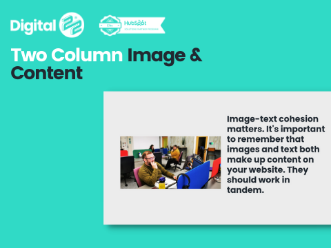 Two Column Image and Content D22 Product Thumbnail