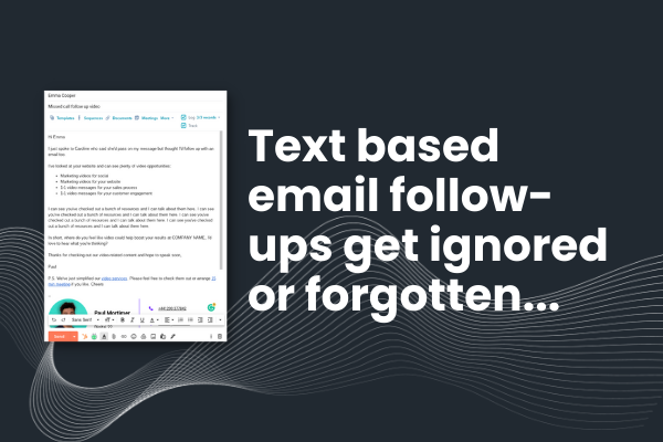 email comparison image before