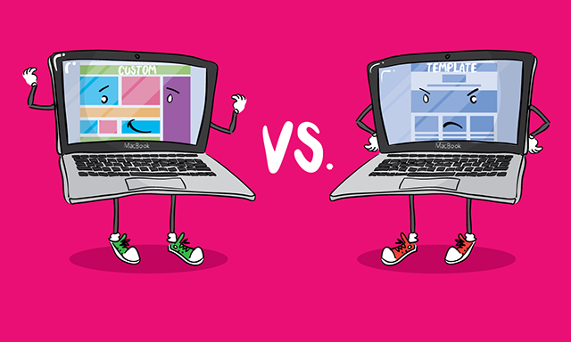 Custom vs Template Website Design: What You Need To Know