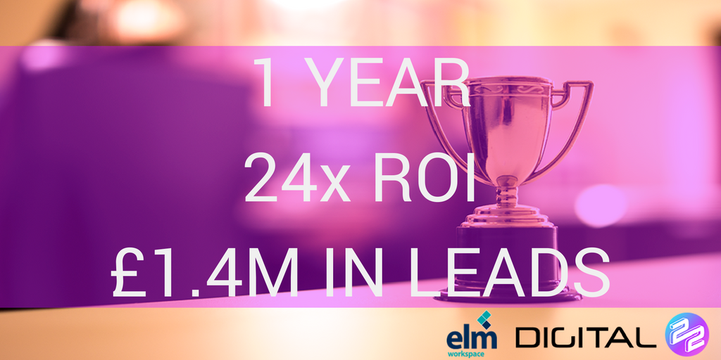 How We Refurbished Elm Workspace's Marketing To Gain £1.4M In Leads (In Just 12 Months)
