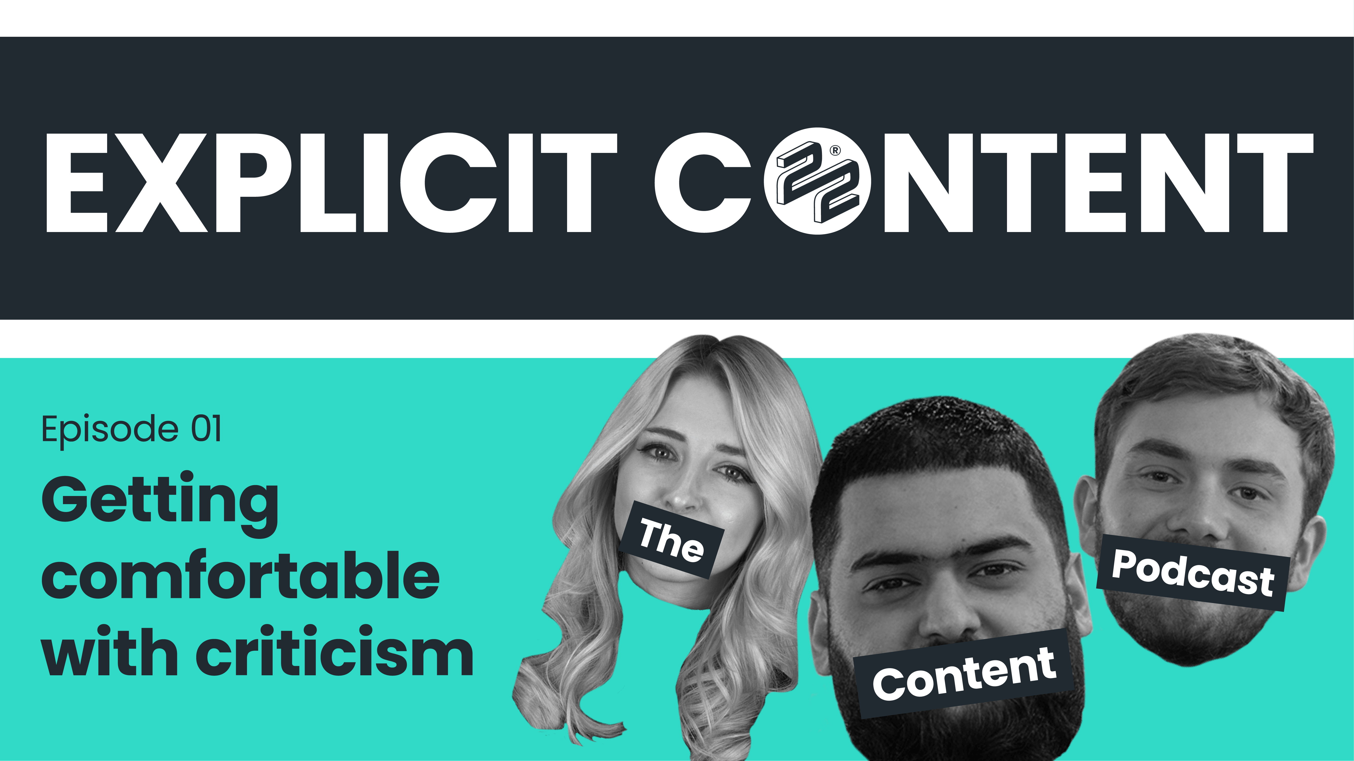 EXPLICIT CONTENT: Getting comfortable with criticism
