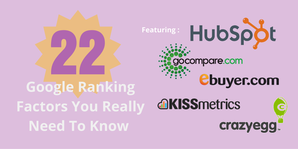 Forget 200! These Are 22 Google Ranking Factors You Need To Know