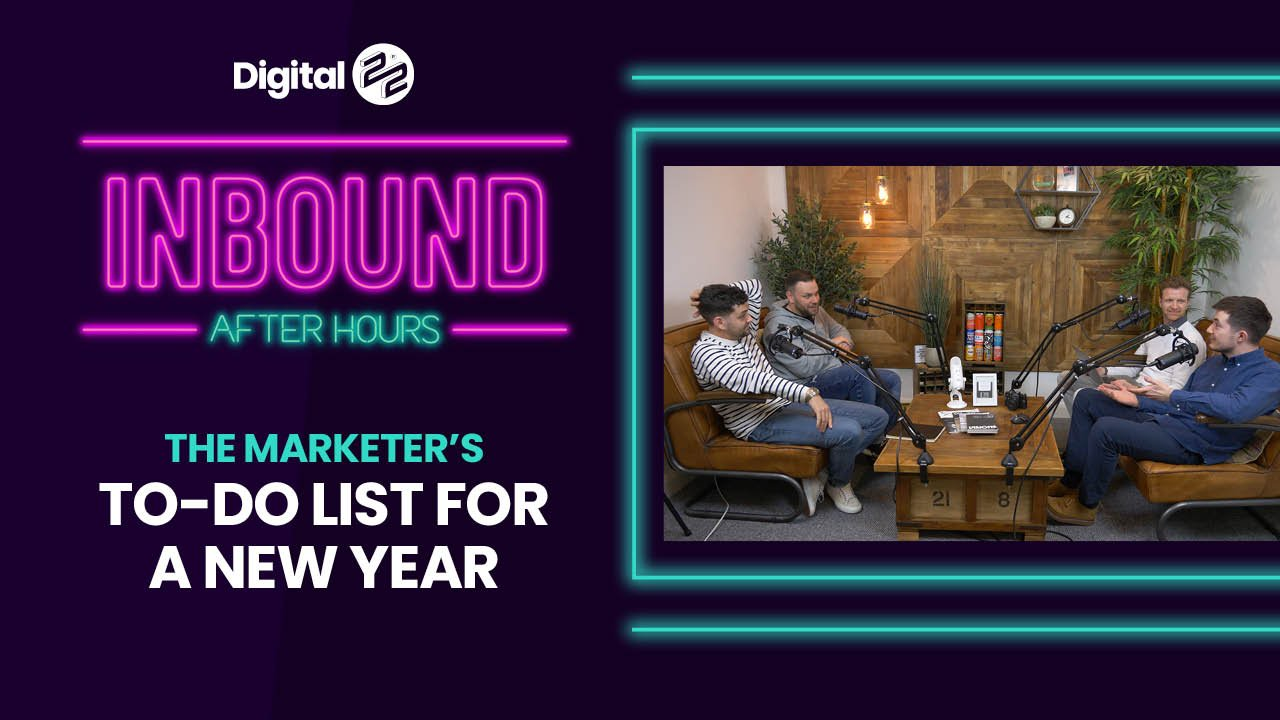 INBOUND AFTER HOURS: The marketer's to-do list for a new year
