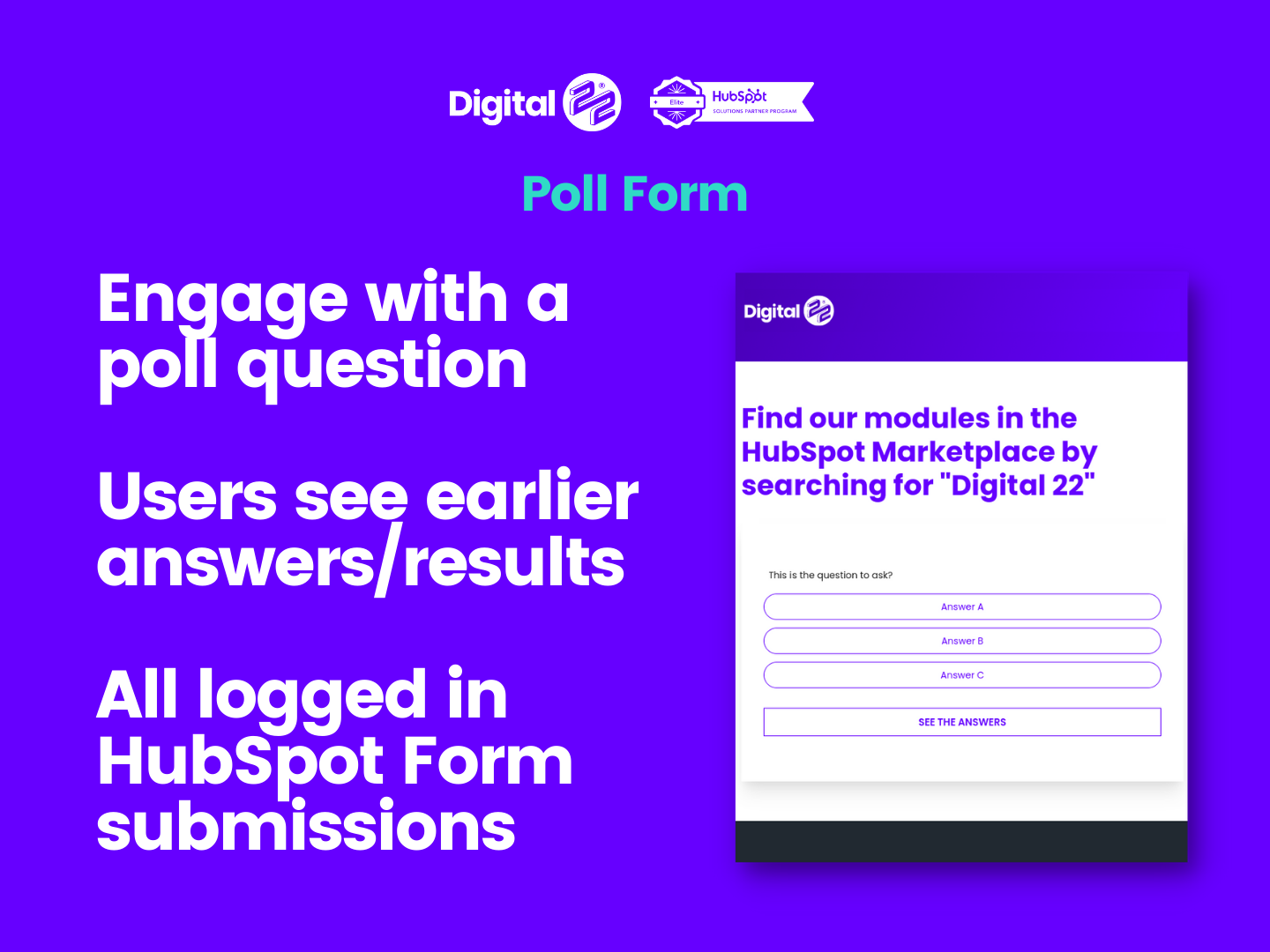 Poll form mobile