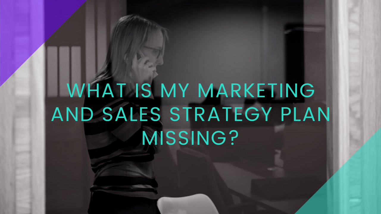 What is my marketing and sales strategy plan missing?