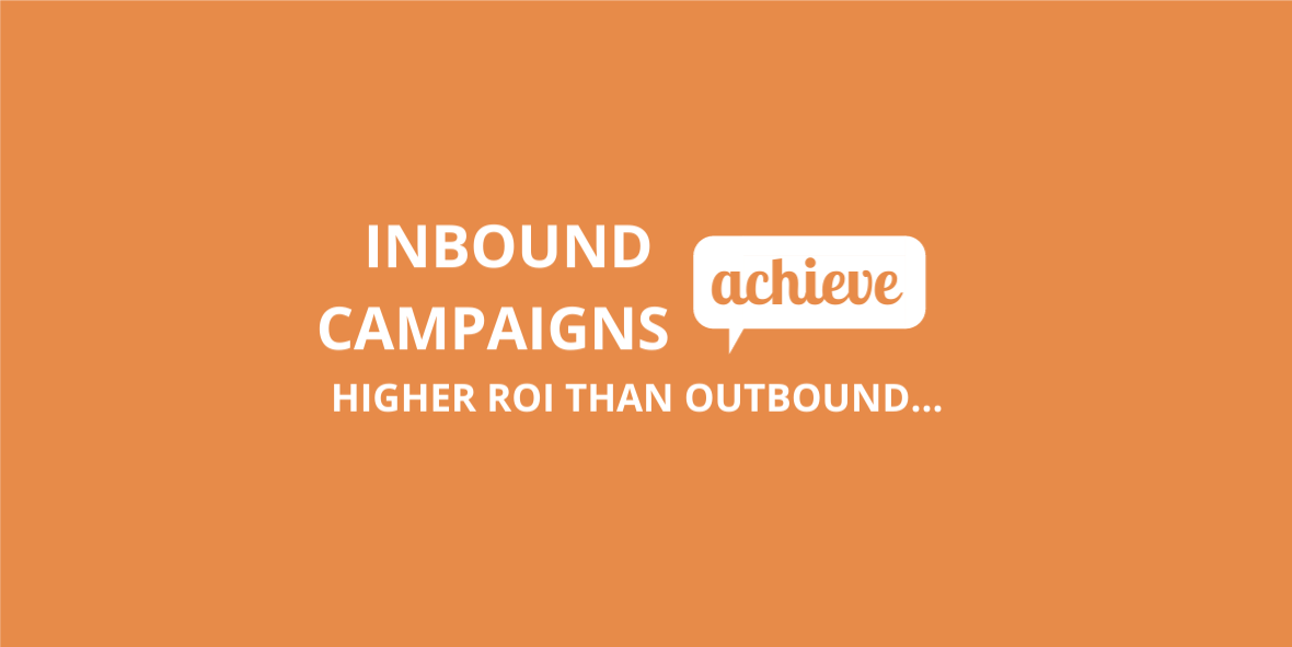 inbound achieves higher ROI